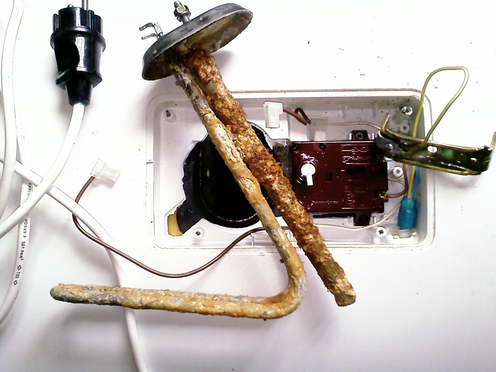 Ремонт водонагревателей своими руками аристон
