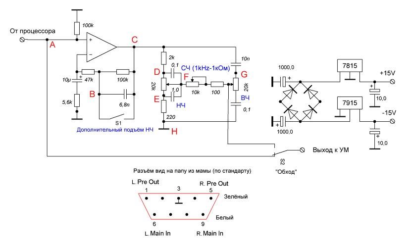 Темброблок схема