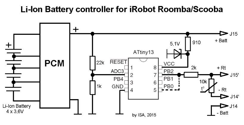 Схема контроллера li ion