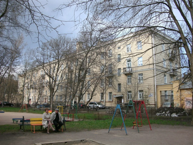 Дрезденская ул. 4к1