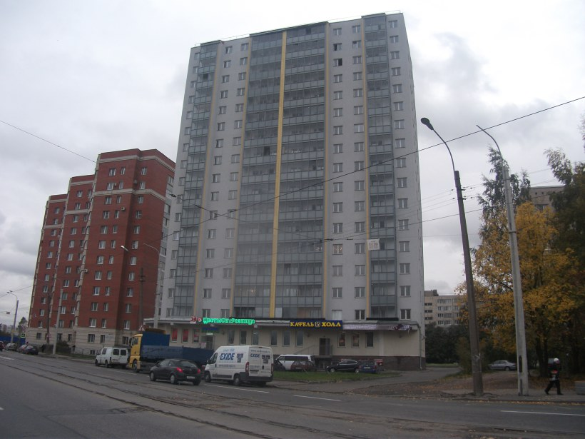 ул. Дыбенко 42к3