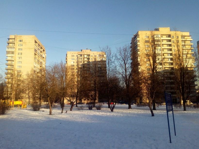 Бестужевская ул. 33к1-33к3