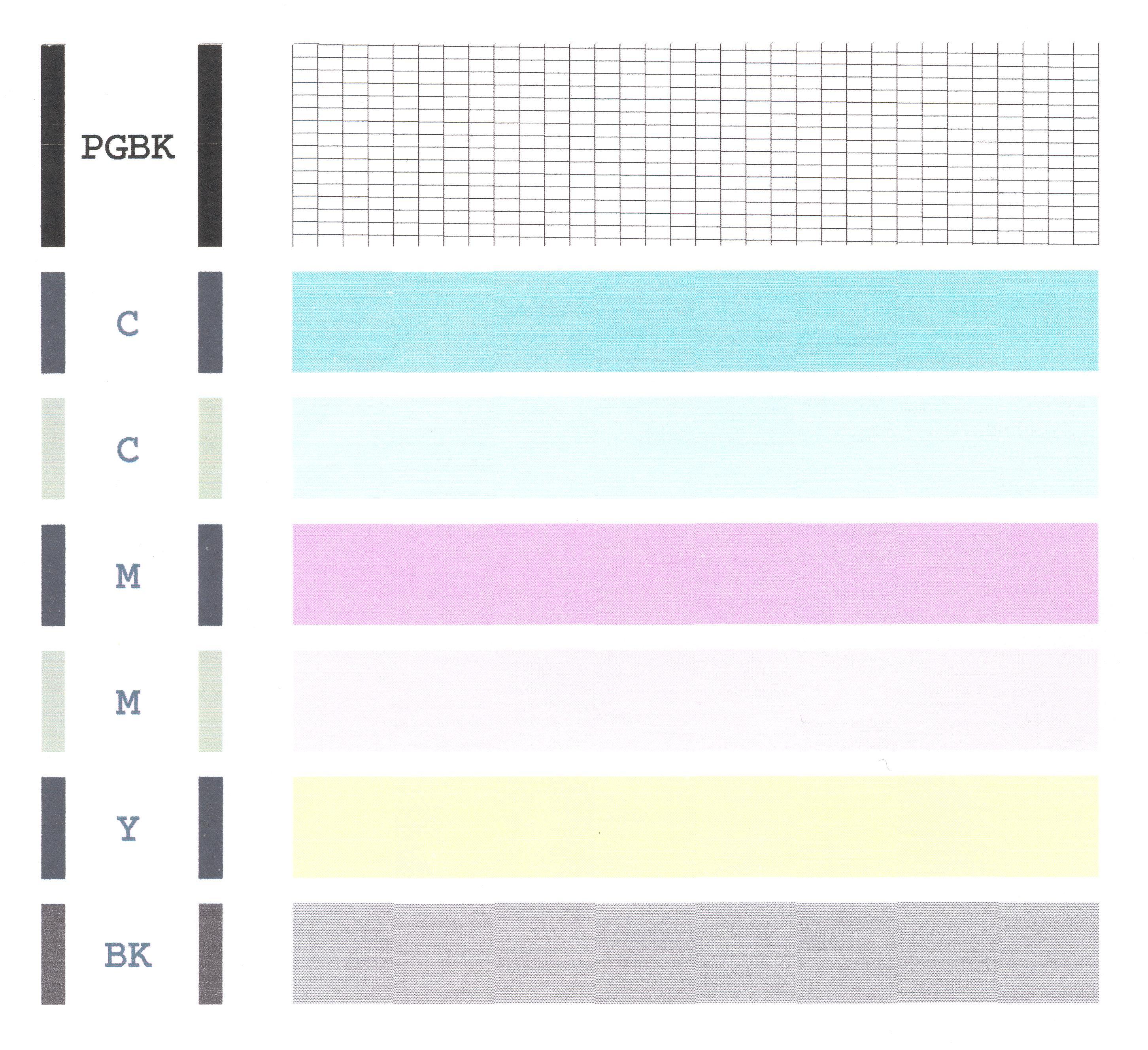 Контрольный образец Принтер canon pixma ip Геннадий   Оригинальная фотография 2904 x 2658 976 Кб