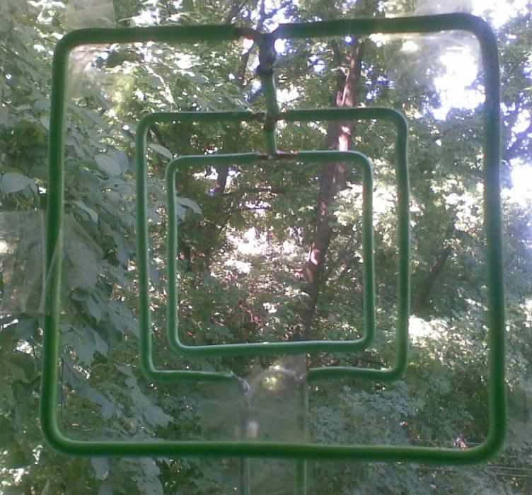 Телеантенна двойной квадрат своими руками