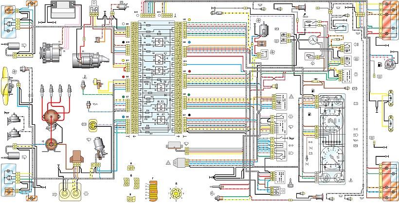 VAZ 2107 Electric Diagram.png