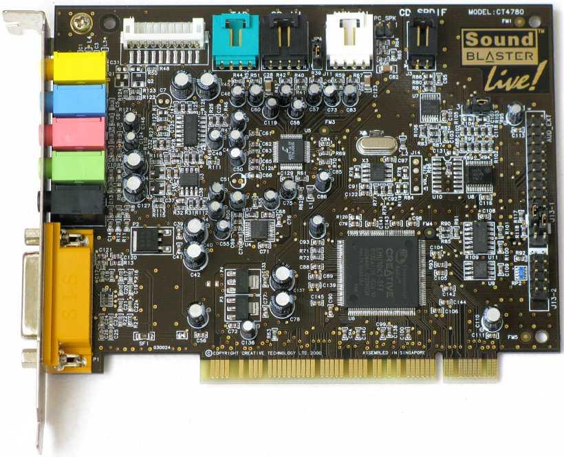Sound blaster ct4780