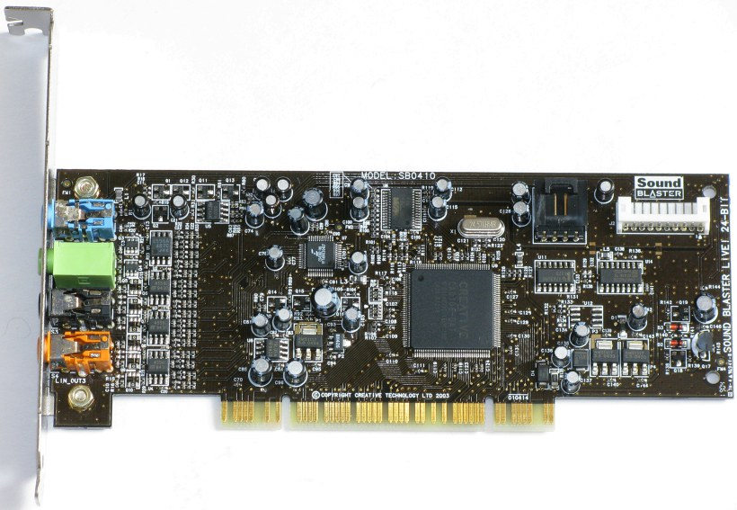 SOUND BLASTER LIVE SB DRIVERS FOR WINDOWS 7