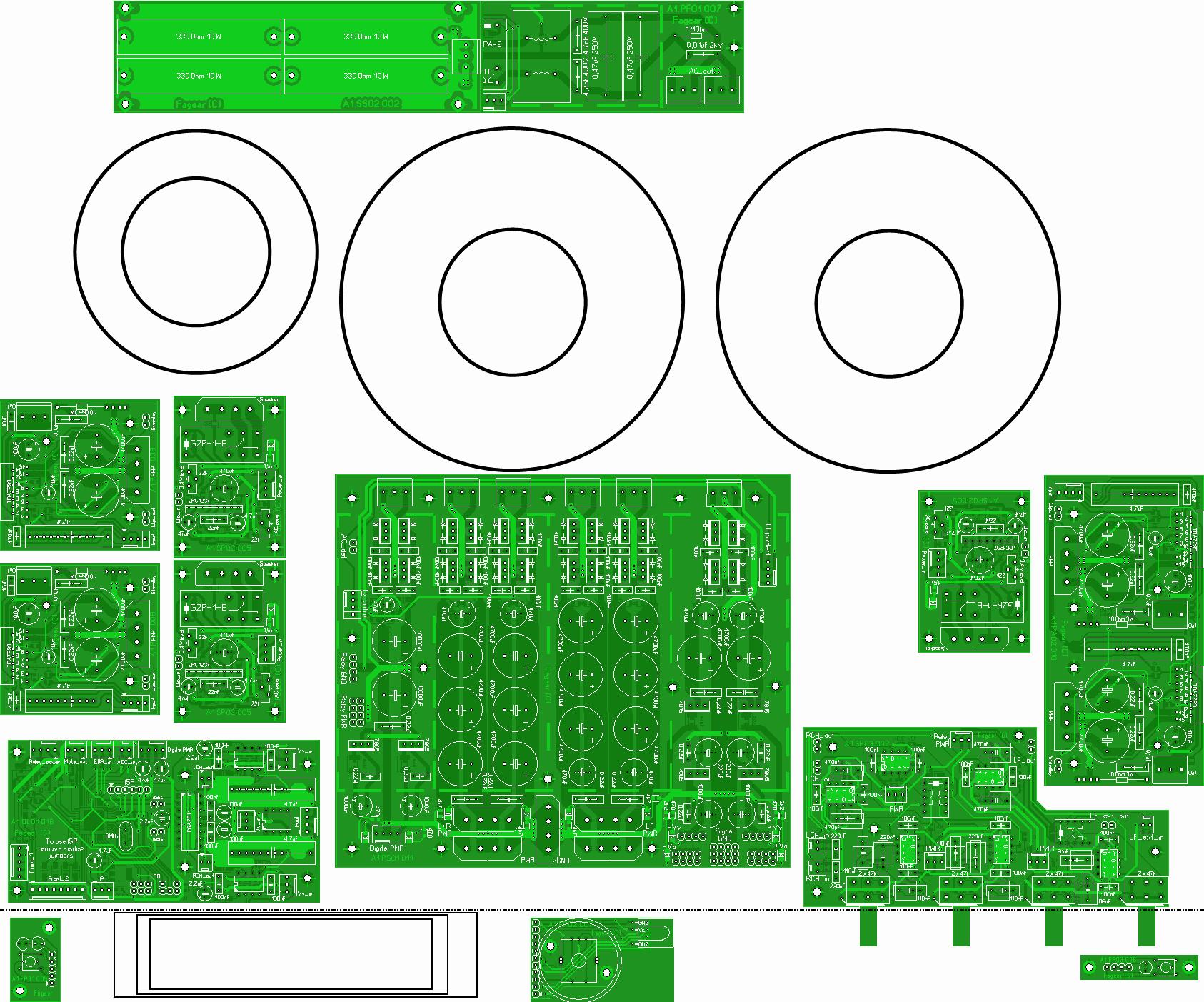 tda2030a однополярное питание схема
