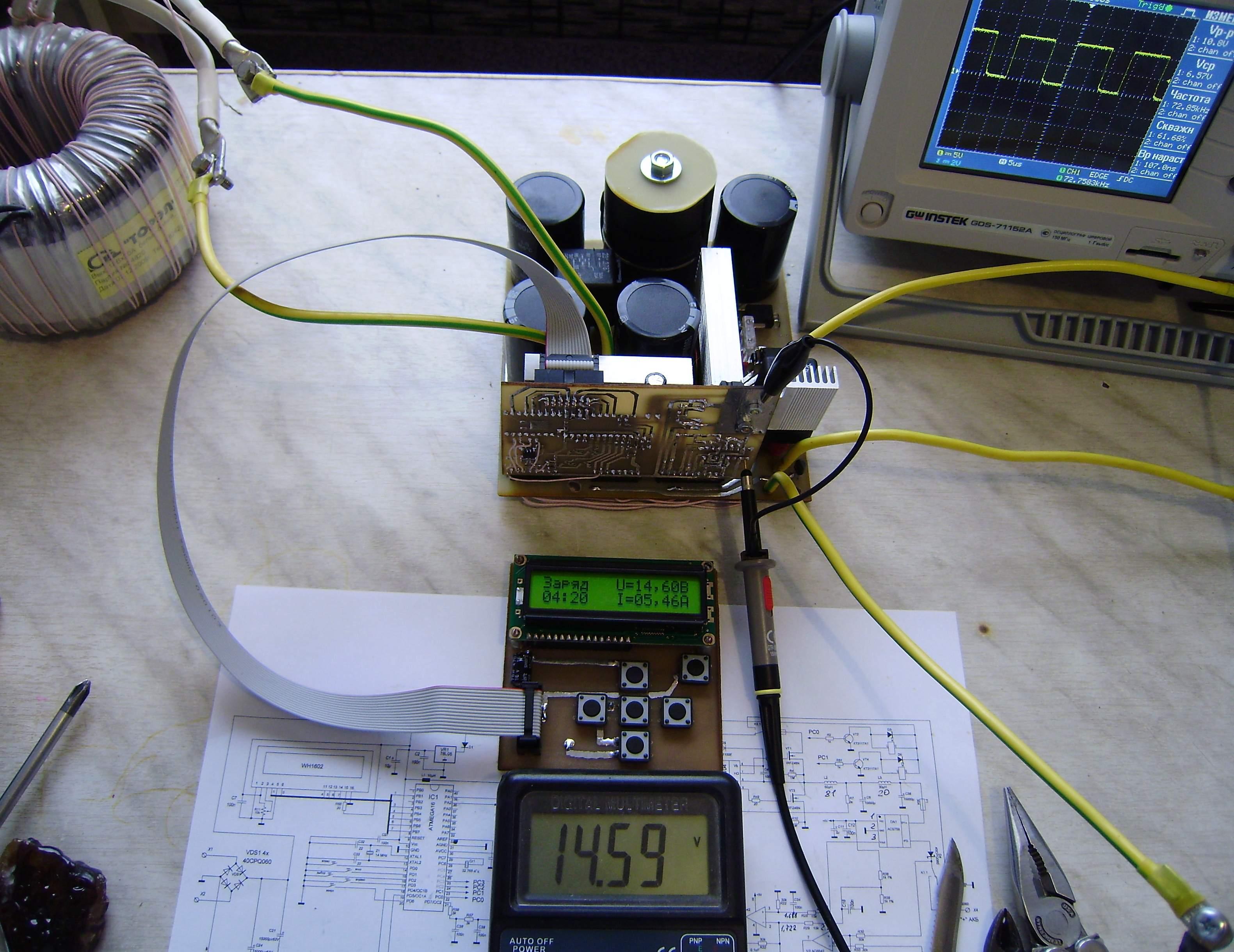 Зарядное устройство для автомобильного аккумулятора сделать своими