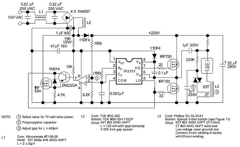 Электронный балласт для ламп