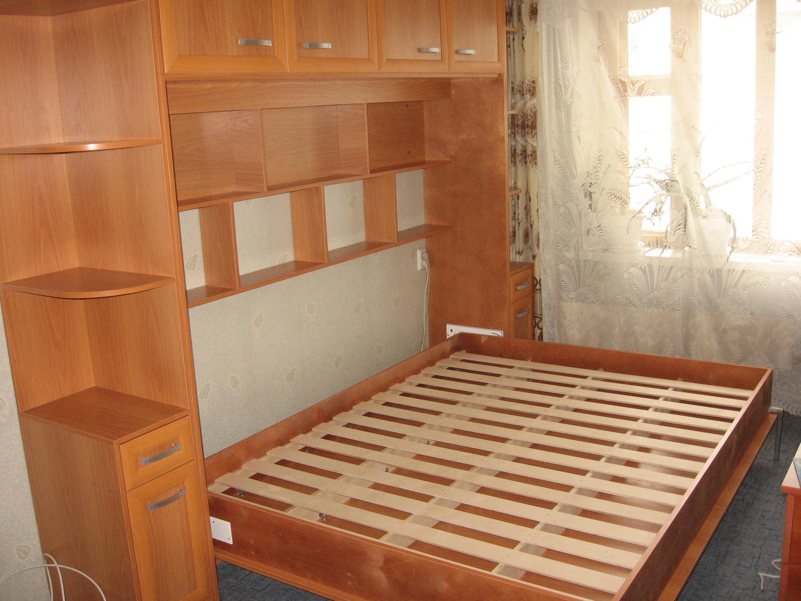 Как сделать встроенную в шкаф кровать