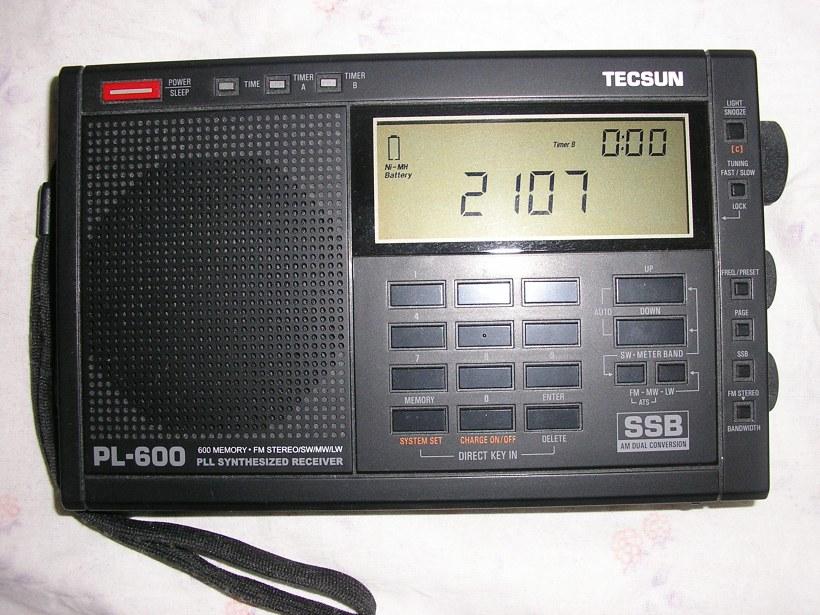 AM/SSB КВ приемник Tecsun PL-600 (100кГц-30мГц) .