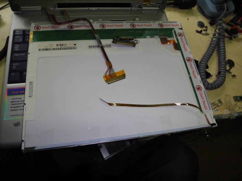 Переделка led подсветки ноутбука для монитора