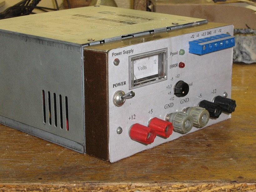 Блок питания 12в. из блока от старого компьютера