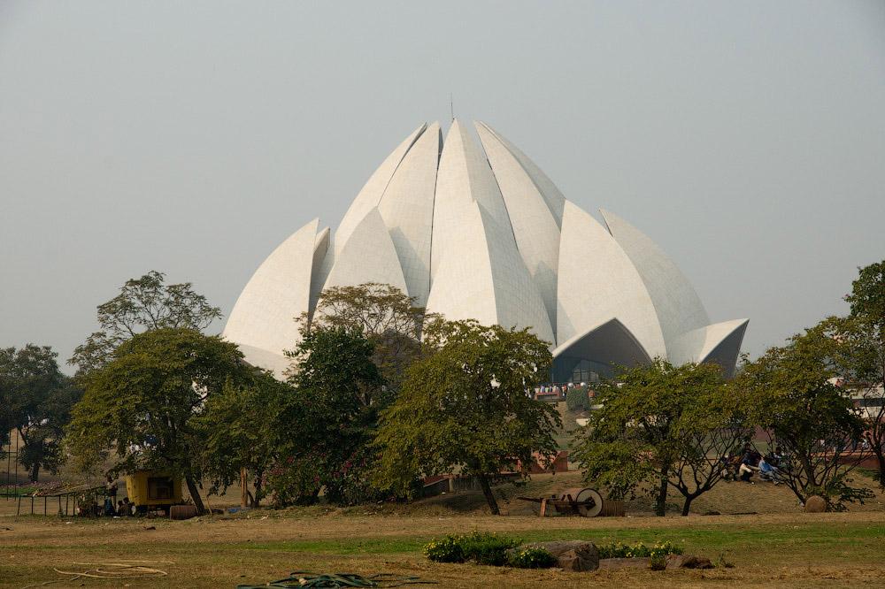 Храм Лотоса - Нью-Дели, Индия