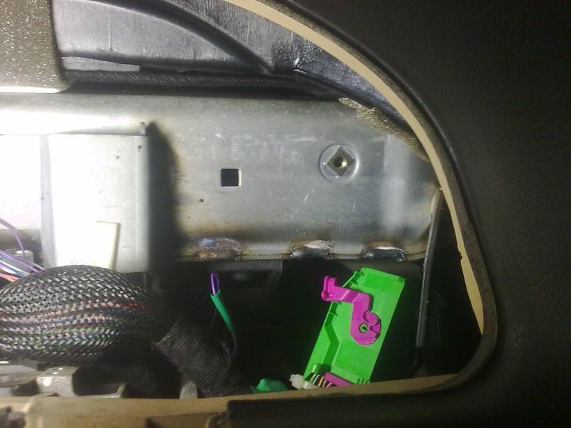 Концевик багажника