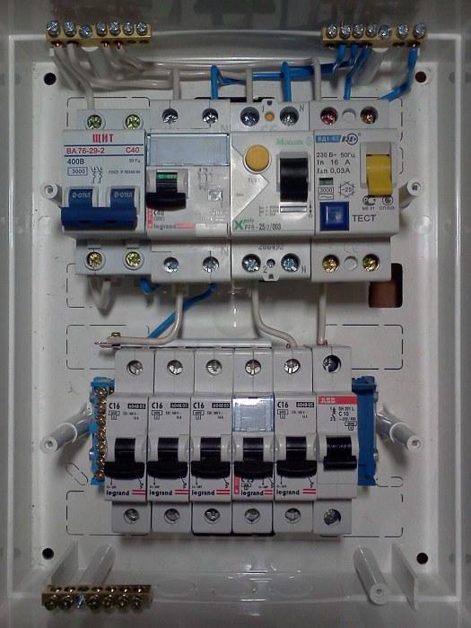Квартирный щиток - Электрика - serf - Участники - Фотогалерея iXBT 8e0e1b4b17cb8