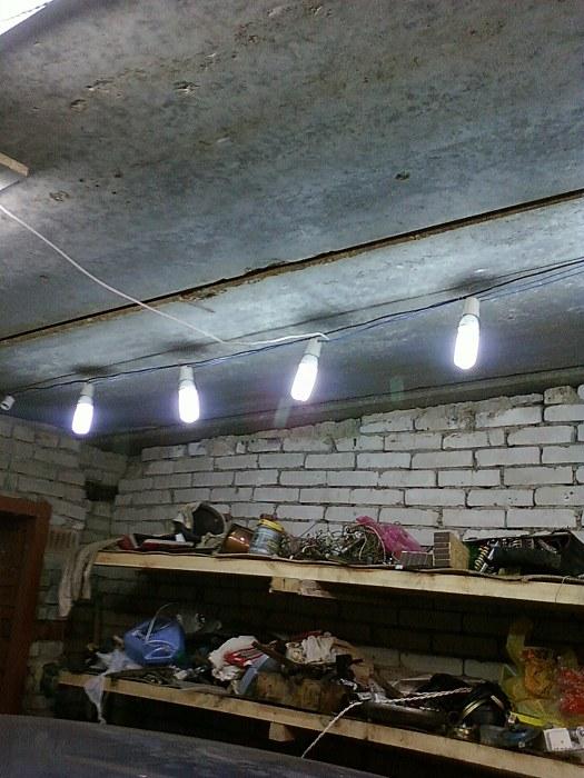 Светильники для гаража своими руками фото