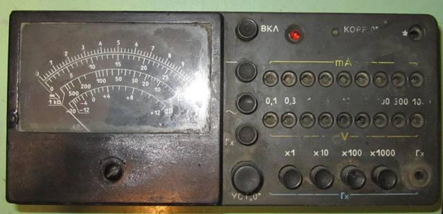Тестер Ц20-05 - Уголок некрофила (электроника) - short_circuit ...