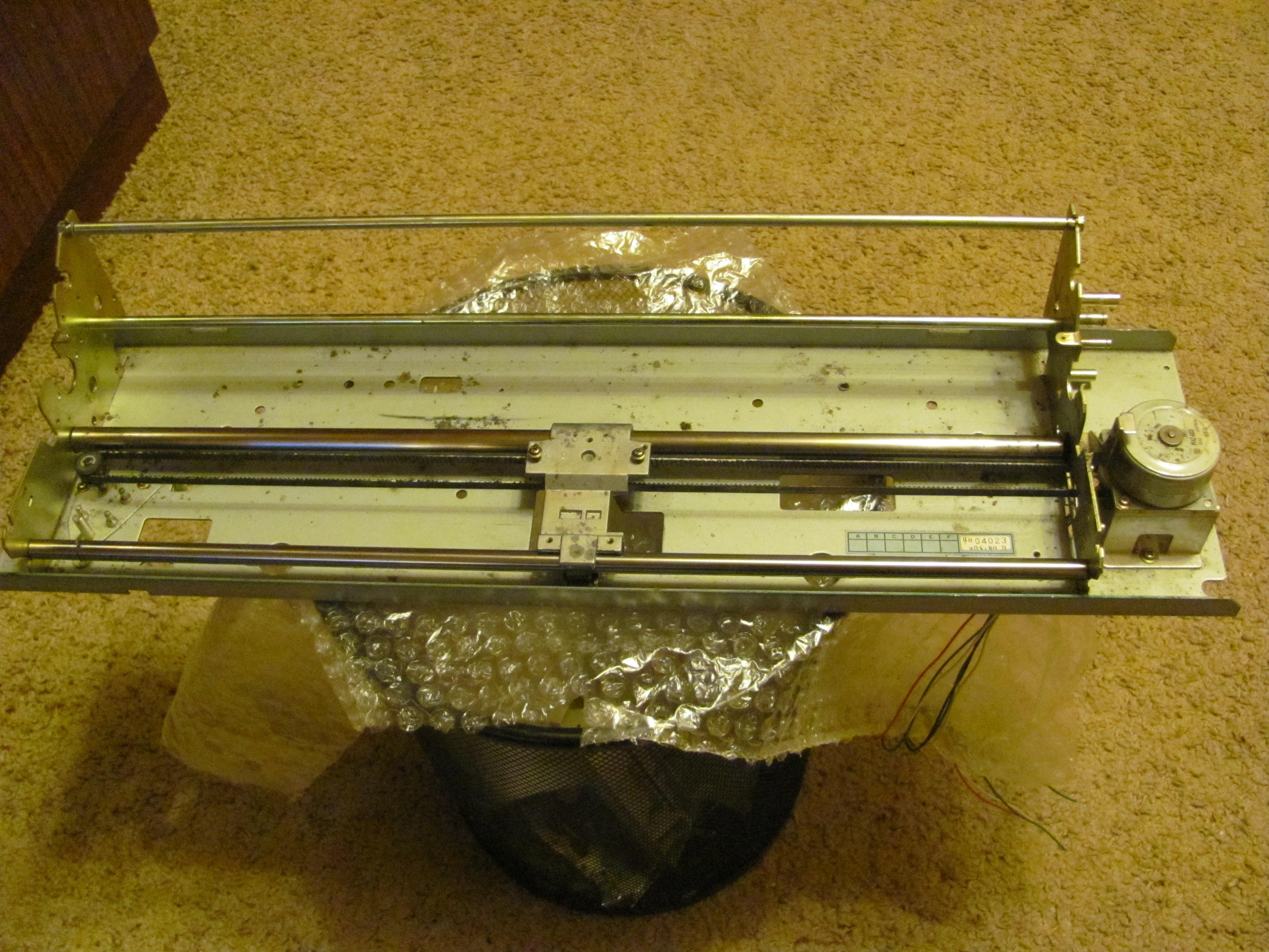 Чпу станок из матричного принтера своими руками
