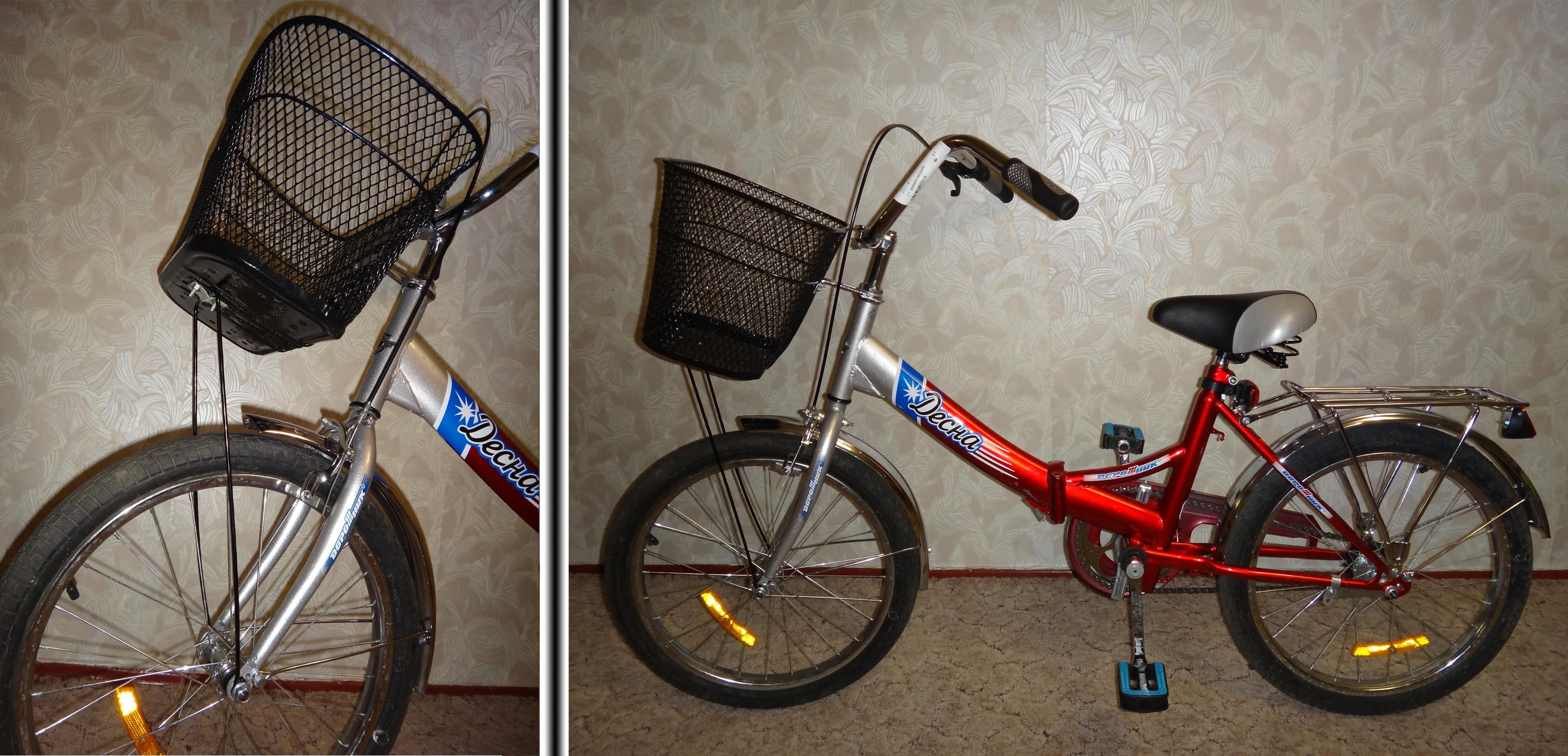 Как прикрепить корзину к велосипеду пошаговая