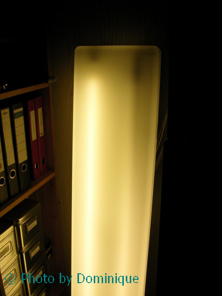Схема с ЭПРА.  Что удивительно, нормальный старт этой лампы продолжался вплоть до полного разрушения катода.
