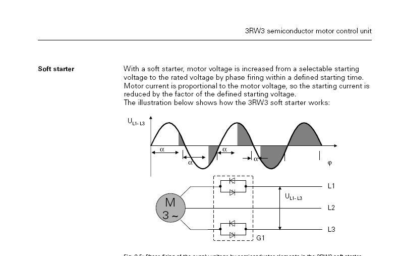 3rw30 схема подключения