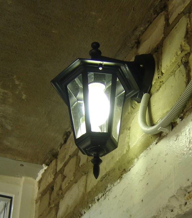 фонари на балконе фото