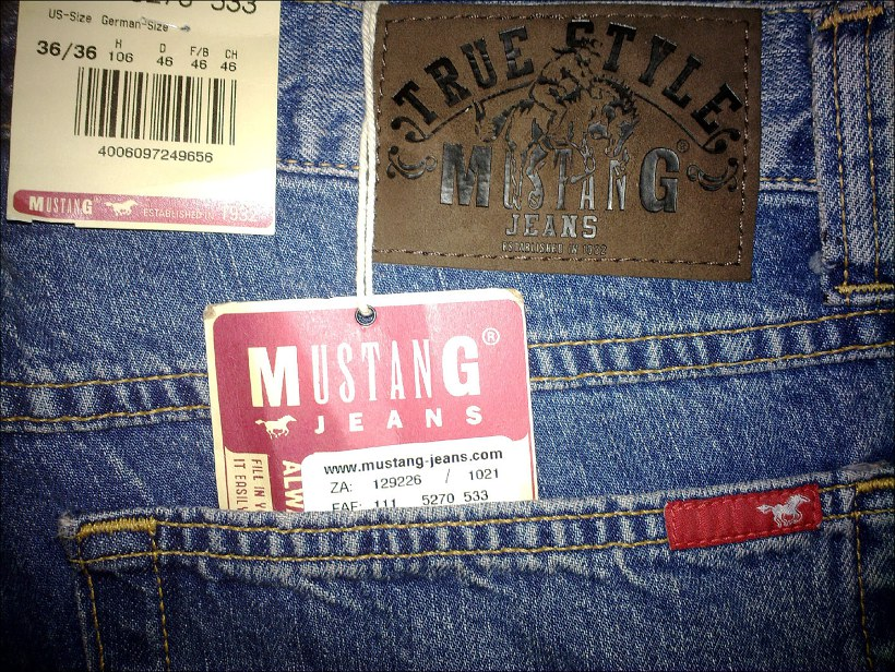 Mustang jeans 8