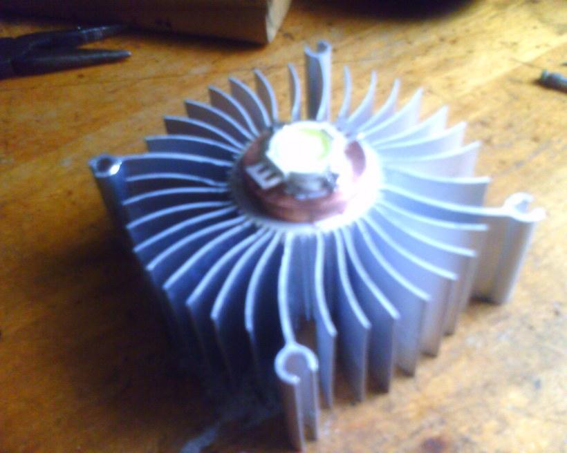 Радиатор светодиода своими руками 91
