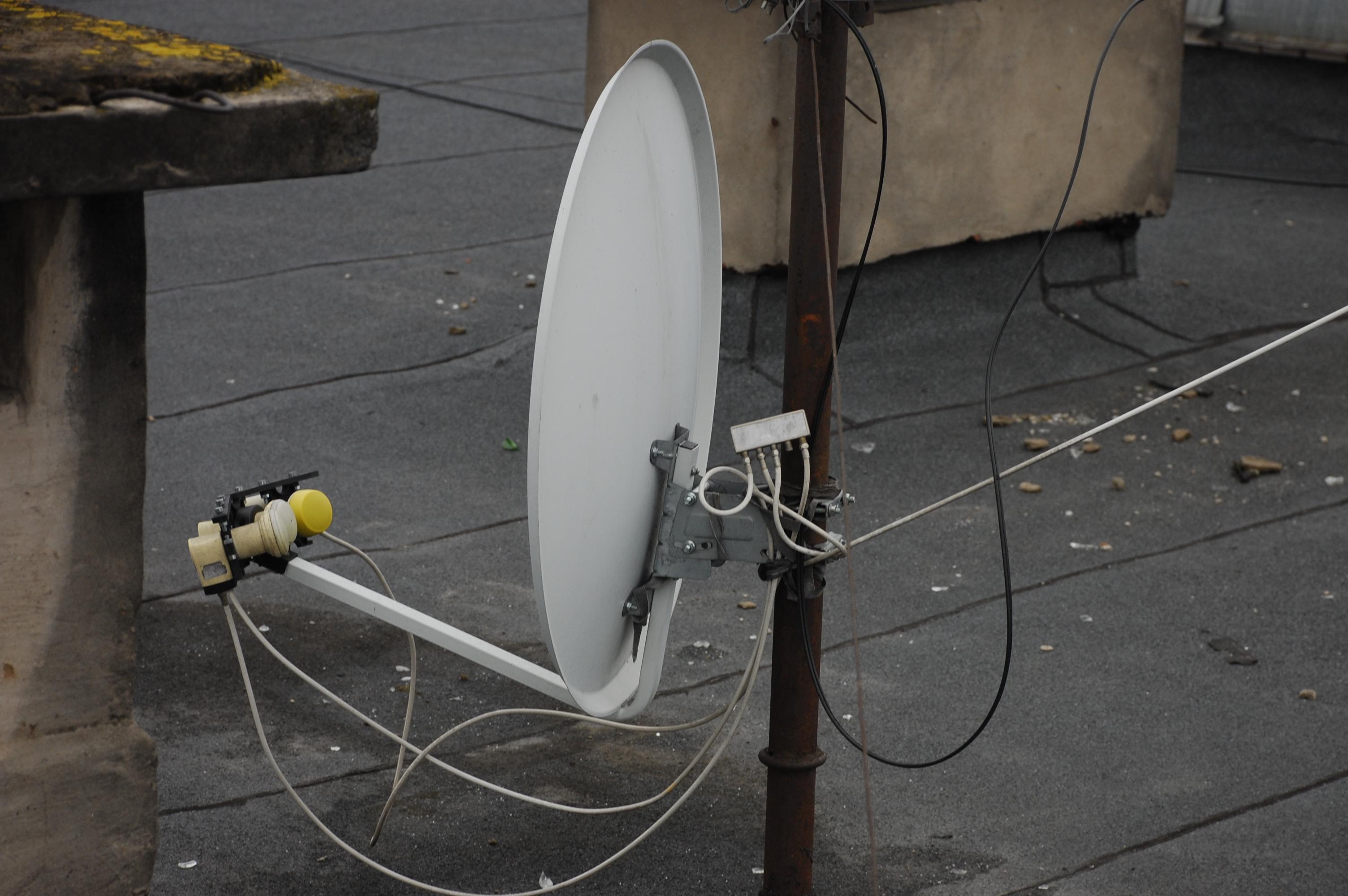 Настройка спутниковой антенны при помощи прибора Sat 16
