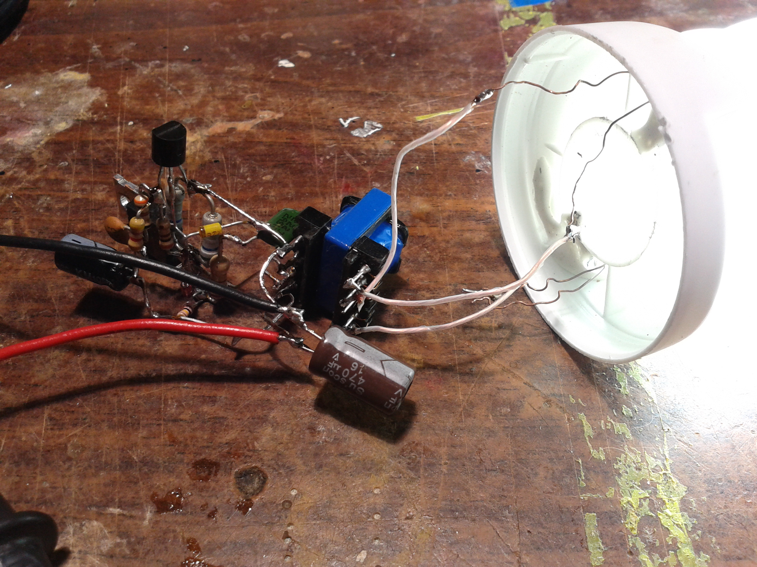 Электронный балласт для ламп своими руками