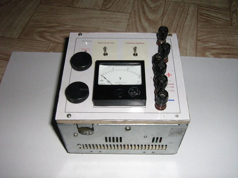 лабораторный блок питания из компьютерного - Микросхемы.
