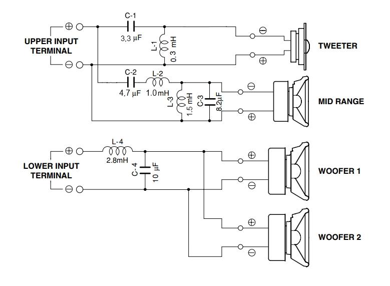 схема кроссовера для акустических систем