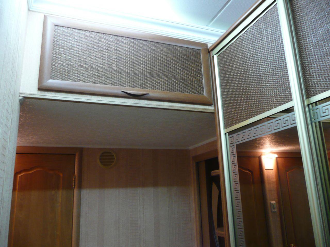 Встроенные шкафы на кухне своими руками 52