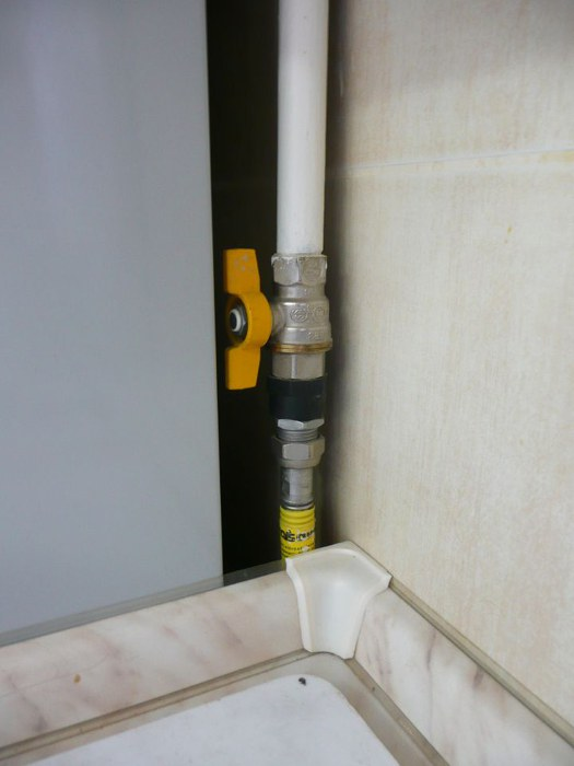 газовые краны на кухне