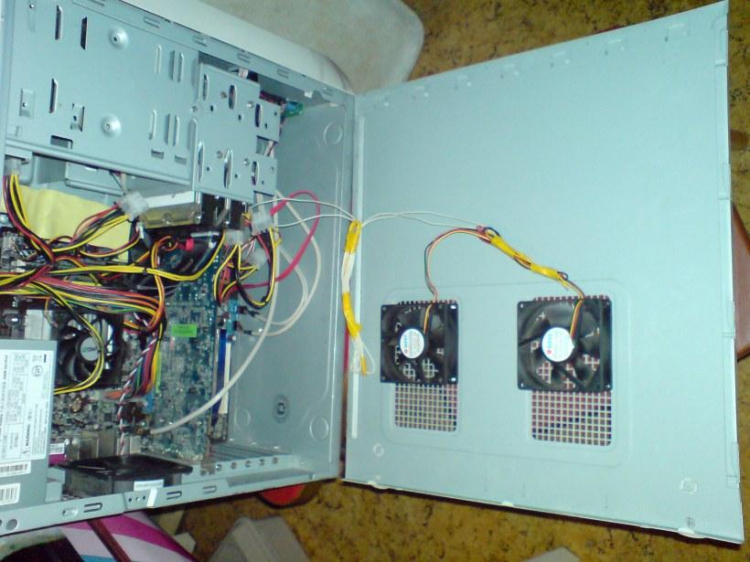 Подключение кулера компьютера