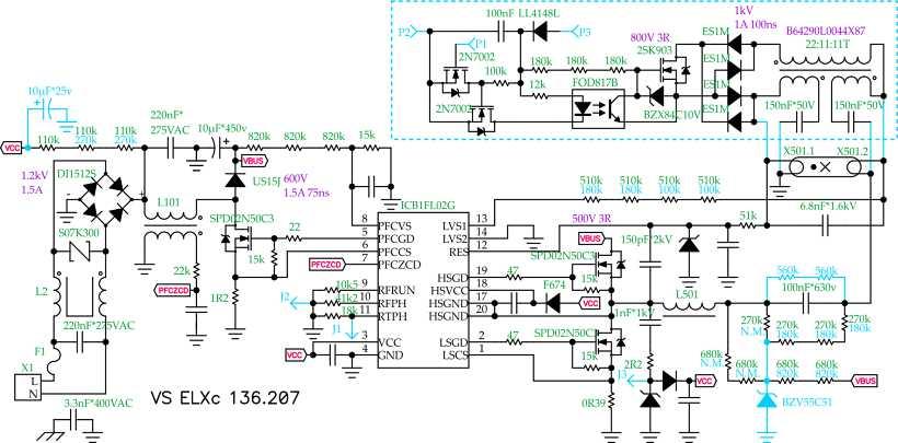 Схема эпра для лб-40.