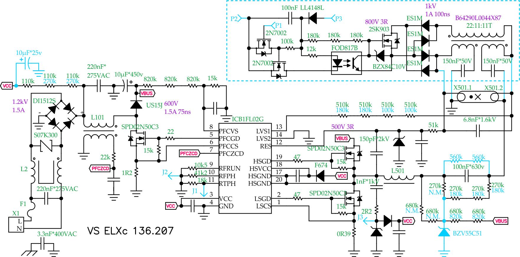 Схемы подключения балластов на светильниках