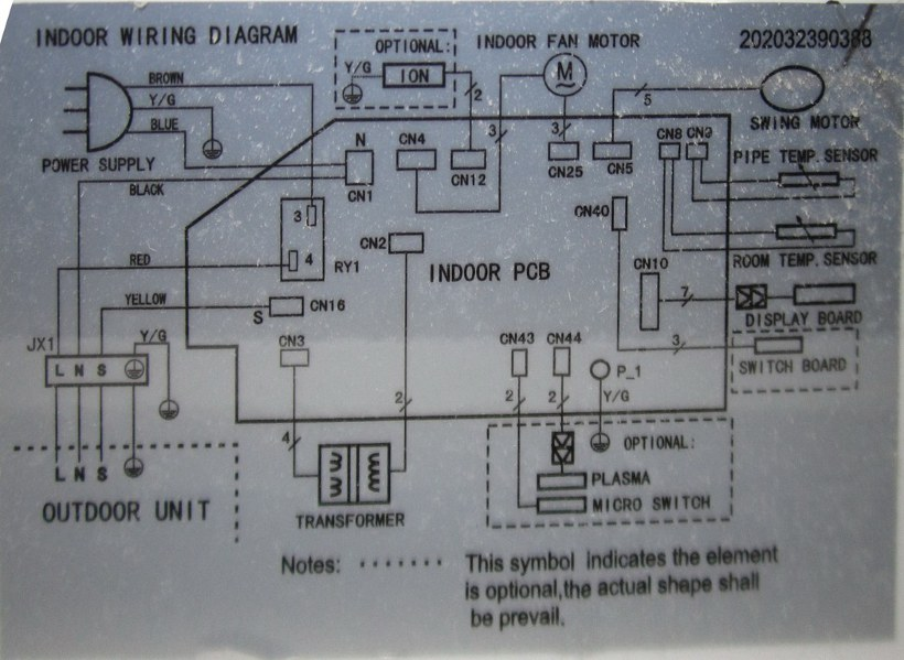 Midea Wiring Diagram Wiring Diagram
