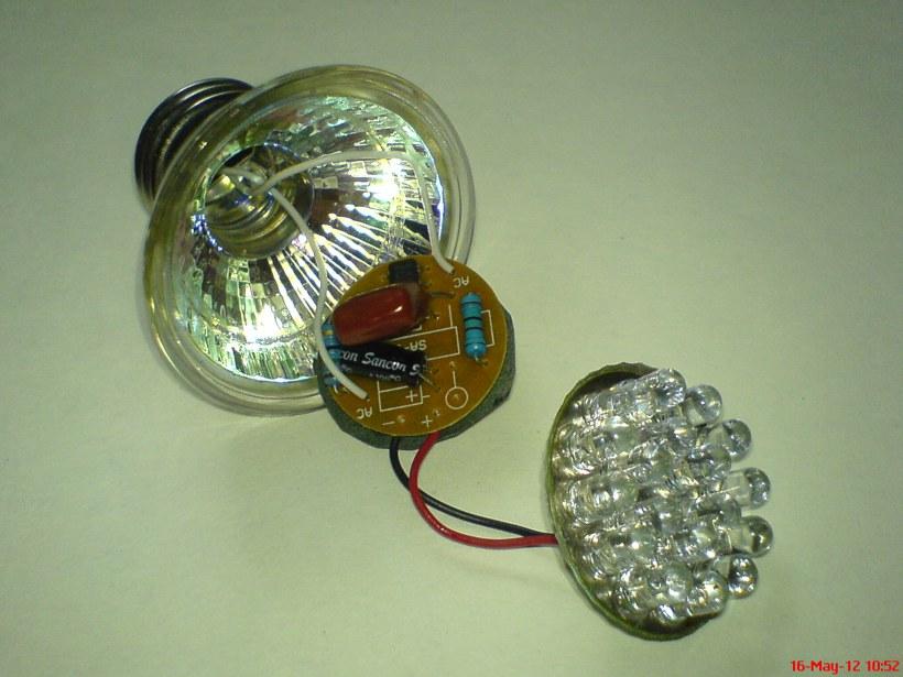 Светильник с батарейным питанием своими руками 34