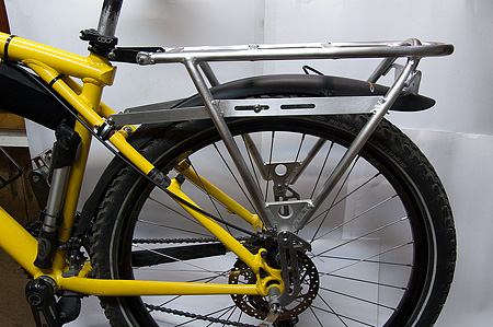 Багажник для велосипедов своими руками