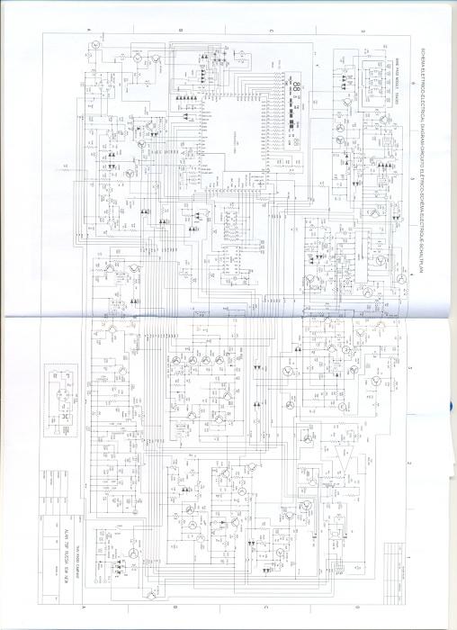 Схема CB радиостанции ALAN 78+