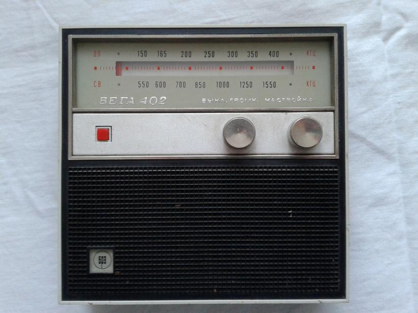 Схему радиоприемника вега-402