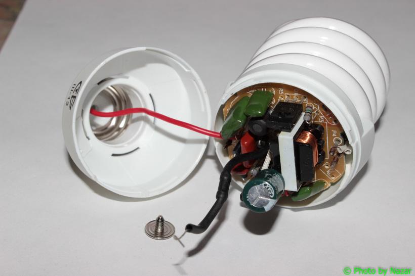 Лампа с электронным балластом своими руками 126