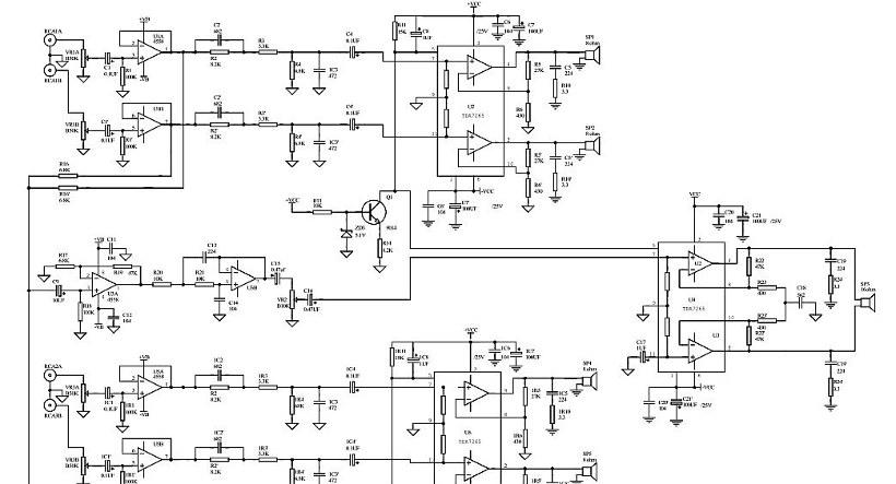 Microlab а 6601 схема