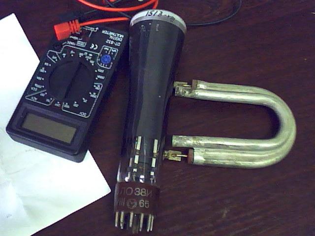 Осциллограф своими руками на трубке 5ло38и 975